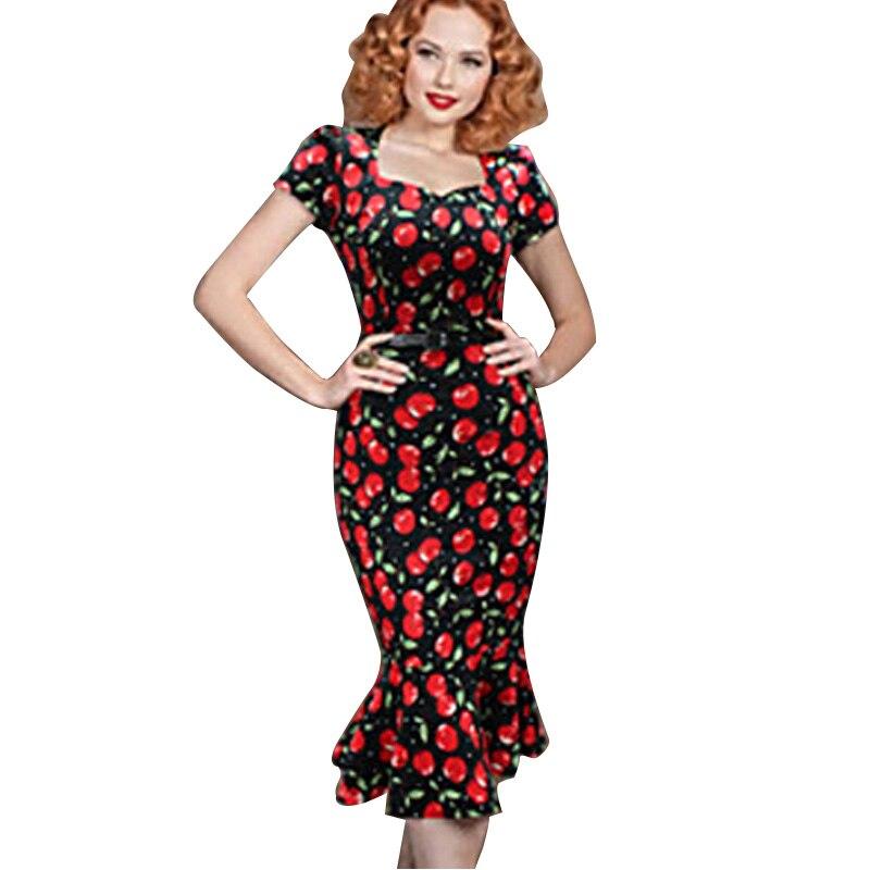 2019 Nové módní dámské letní elegantní náměstí výstřih tunika nosit do práce obchodní příležitostné party tužka plášť šaty
