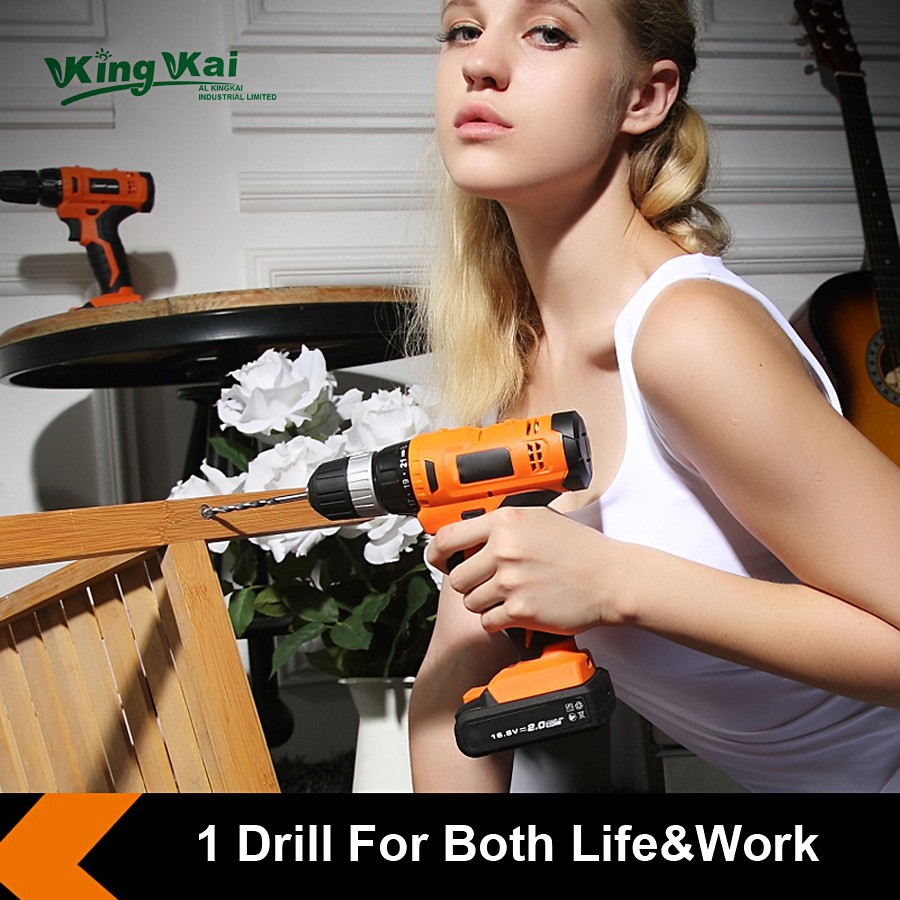 Cordless Lithium Battery Electric Drill-05