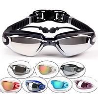 Swim Eyewear Professional Men Women Silicone Waterproof Swimming Goggles Anti Fog Sports Swimming Glasses
