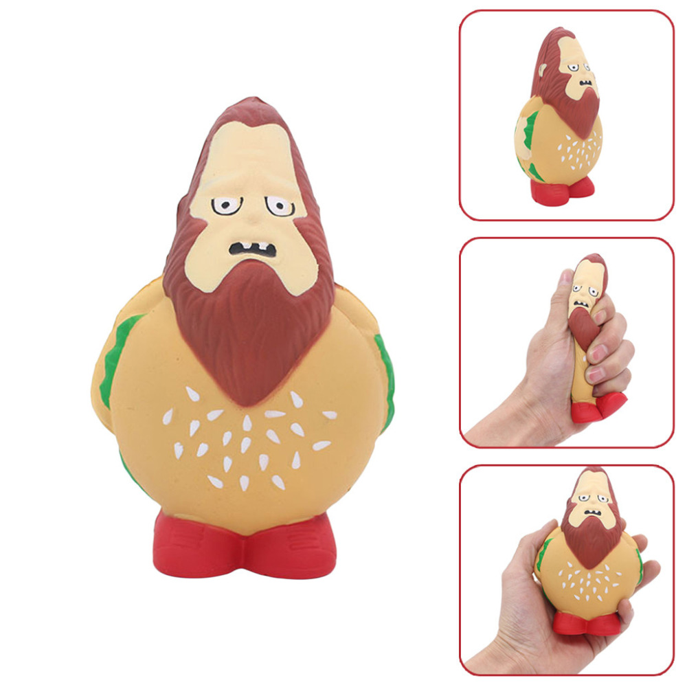 Burger Style Stress Reliever Scented Super Slow Rising Kids Squeeze Toy Cute Toys For Kid Child Boy Girl  A1