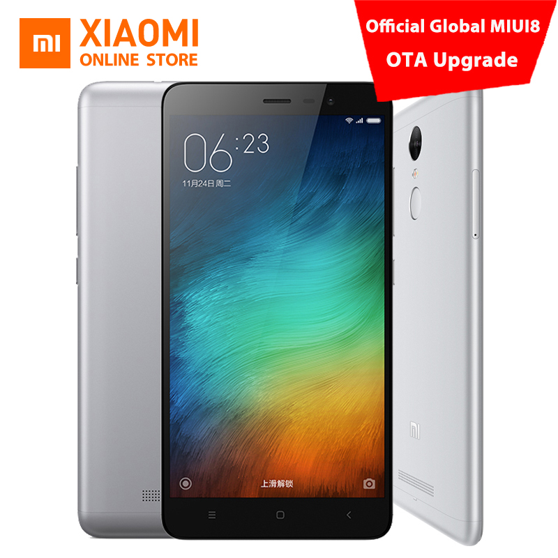 84b4f76f8c9c6 Original Xiaomi Redmi Note 3 Pro Prime mobile phone 5.5 Inch FHD 3GB 32GB  64bit Snapdragon 650 Hexa Core 16.0MP Global ROM