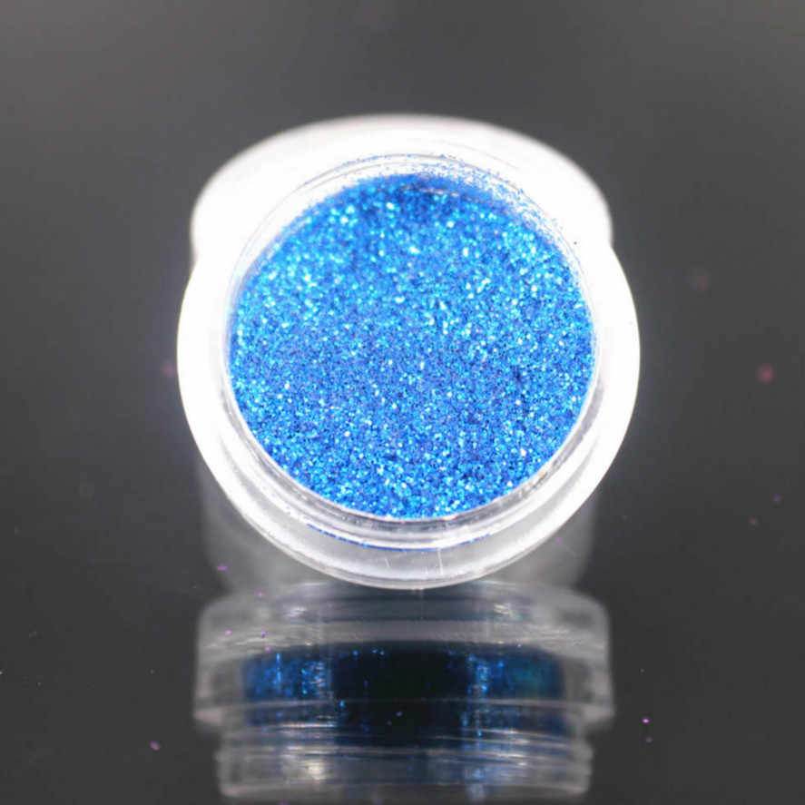 New 1Box Deep Blue Glitter Eyeshadow 12 Color Glitter Eyes Palette Monochrome Eyes Shimmer Powder Makeup Festival Face CHTB9