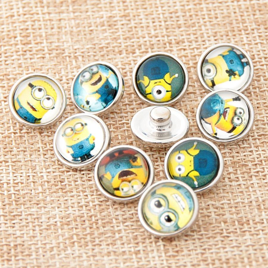 Hot 12 MM DIY Snaps snap botões 20 Pçs lote Mixed Estilos DIY Encantos Para  Pulseira Pulseiras Bangle S100 1ebbfee818