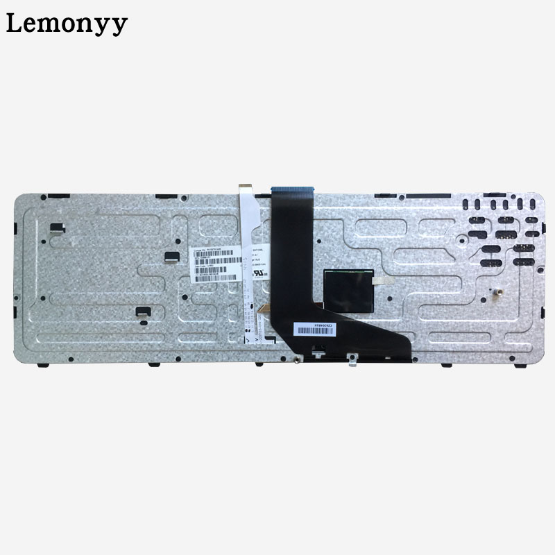 Image 4 - NEW Russian laptop keyboard FOR HP for ZBOOK 15 17 G1 G2 PK130TK1A00 SK7123BL with backlight/Pointer 733688 001-in Replacement Keyboards from Computer & Office on