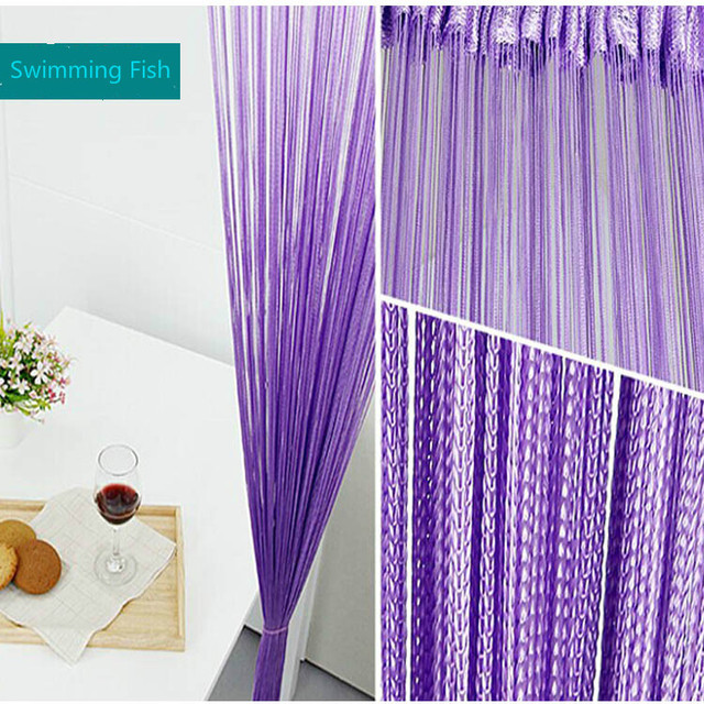 Aliexpress Com Buy 3m 3m Finished Rod Pocket String Curtain Line