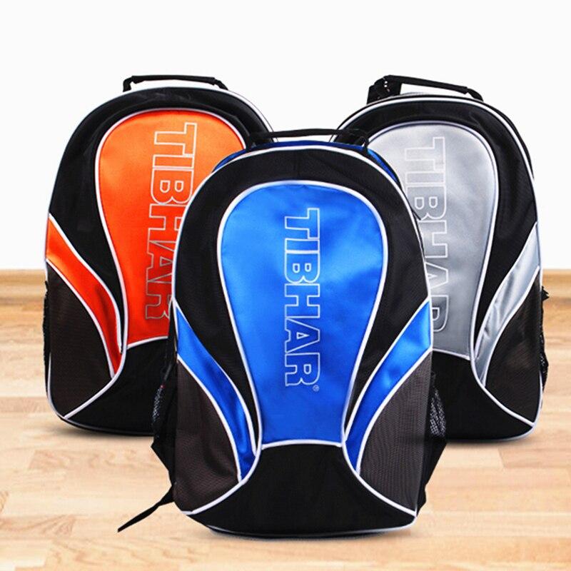 TIBHAR Table Tennis Bag Sports Backpack Multi-function Storage Travel Racket Ping Pong Case Accessories Tenis De Mesa
