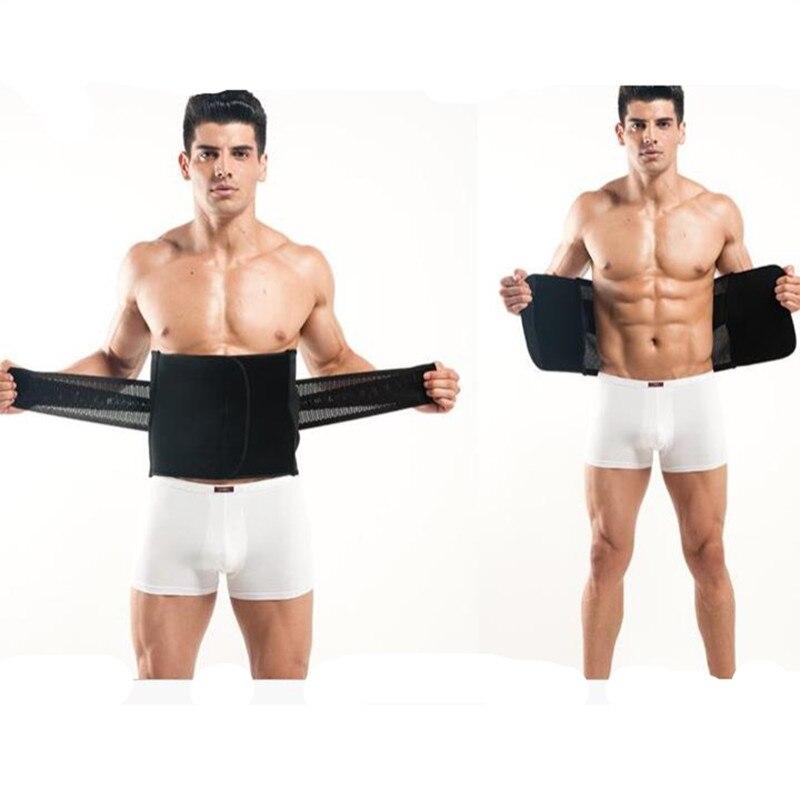 100% Wahr Men Compression Bauch Shaper Korsett Taille Trainer Cincher Bauch Bauch Trimmer Bauch Control Abnehmen Körper Modellierung Gurt