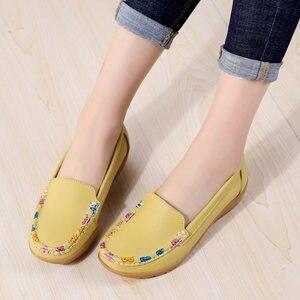 Casual shoes women flats loafe
