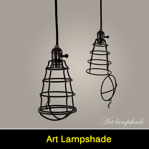 Industrial Caged Pendant With Rivets: Popular Lampshade Wire-Buy Cheap Lampshade Wire Lots From