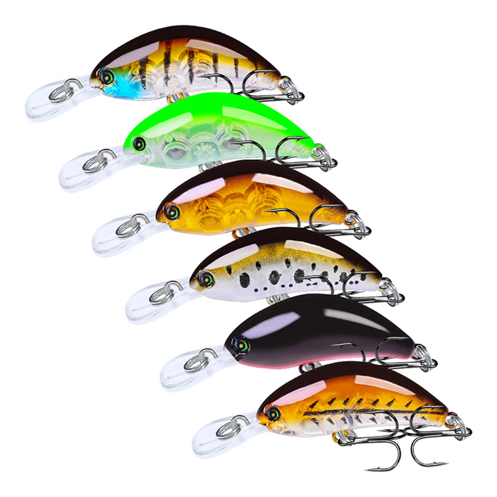 Supply 1pcs/lot Fishing Lures Kit Plastic Crank Bait 4g/5.5cm Wobblers Crankbait Tackle Bass Bait Spinners For Fishing Sufficient Supply Fishing