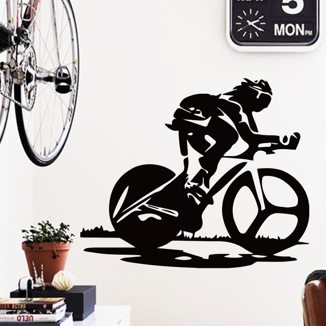 Art Design Dcoration Pvc Racing Vlo Sticker Mural tanche Vinyle