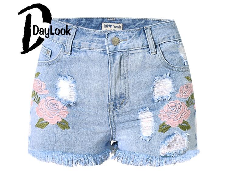 Popular Printed Denim Shorts-Buy Cheap Printed Denim Shorts lots ...