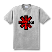 T Shirt Hipster Cool Tops Men S Short Sleeve Printing O Neck Red Hot Chili Peppers
