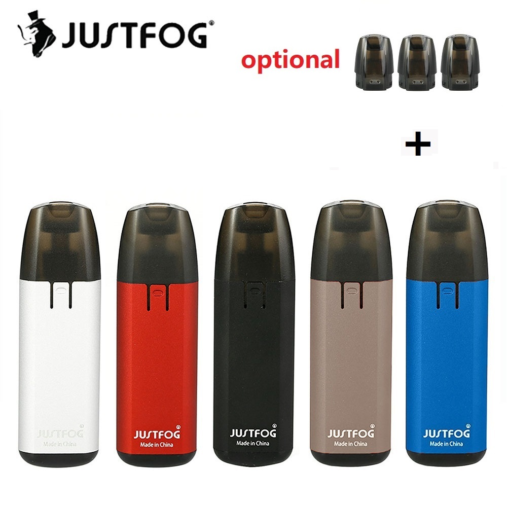 Original JUSTFOG MINIFIT Starter Kit W/ 1.5ml Pod Cartridge 1.6ohm Coil & Constant Voltage Output 370mAh Battery Vs Justfog Q16