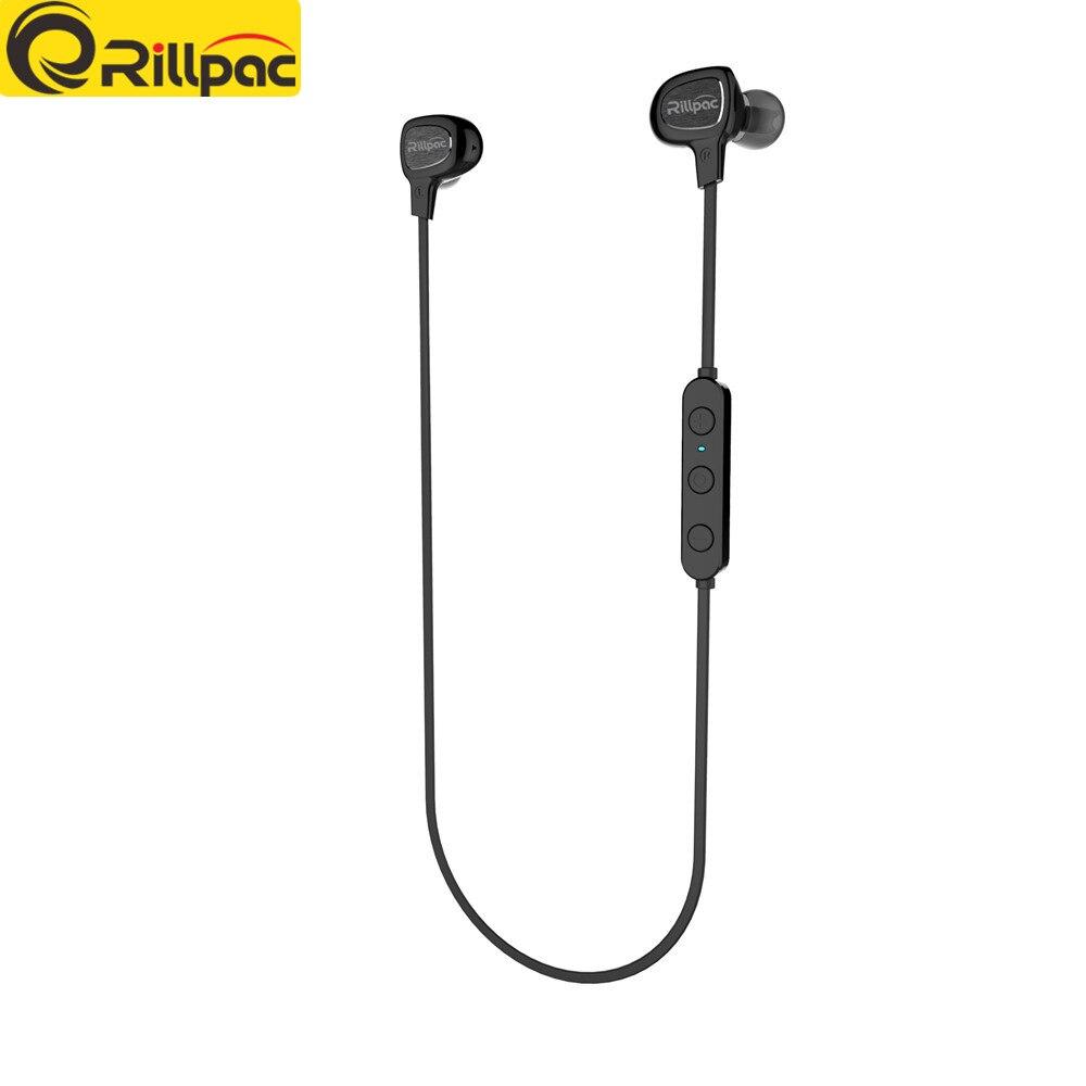 Rillpac BT10 V4.1 + EDR Smart Wireless Bluetooth para auriculares - Audio y video portátil