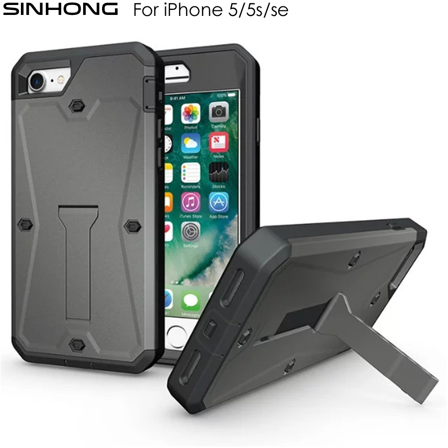 Waterproof Phone Case For iPhone 5 5s 6 6s Plus Cover Water Proof Coque Shockproof 360 Degree Full Body Protective Fundas