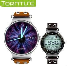 Torntisc Спортивные GPS Смарт часы с 1.39 дюймов HD OGS сенсорный экран монитор сердечного ритма Google Play sim 3 г android smart наручные часы