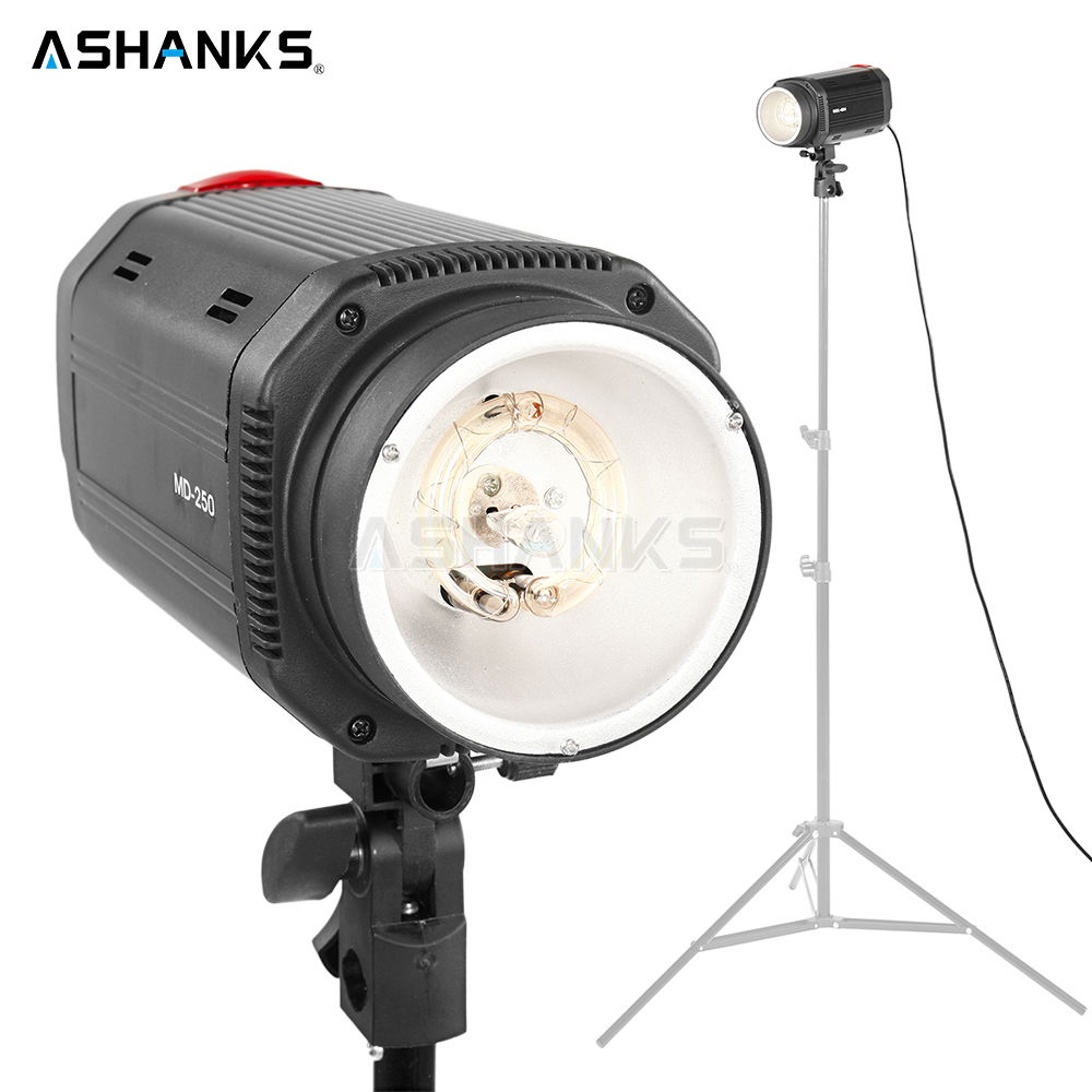 ASHANKS Digital Studio Flash Light Dimmer Flash Lamp Bulb 5500K Strobe Photoflash/Speedlite for Photography Camera Video Photo ashanks 800w studio video red head light with dimmer continuous lighting bulb free shipping