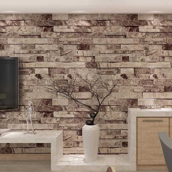 Vintage Brick Wallpaper for walls 3 d in rolls Living room Desktop Mural 3D wallpapers on the wall papel de parede QZ0455