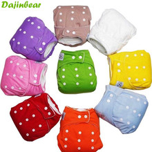 1 PCS Reusable Baby Infant Nappy Cloth Diapers Soft Covers Baby Nappy Size Adjustable Training Pants Size Adjustable 9 Colors