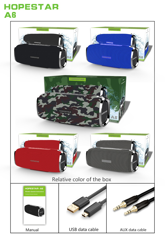 Bluetooth Speaker Column 10