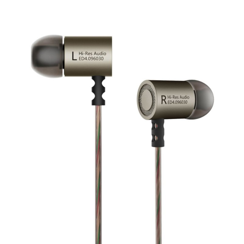 Kz ED4 Headphones Headset HIFI Headphones Stereo Earphones With Mic For Mobile Phone
