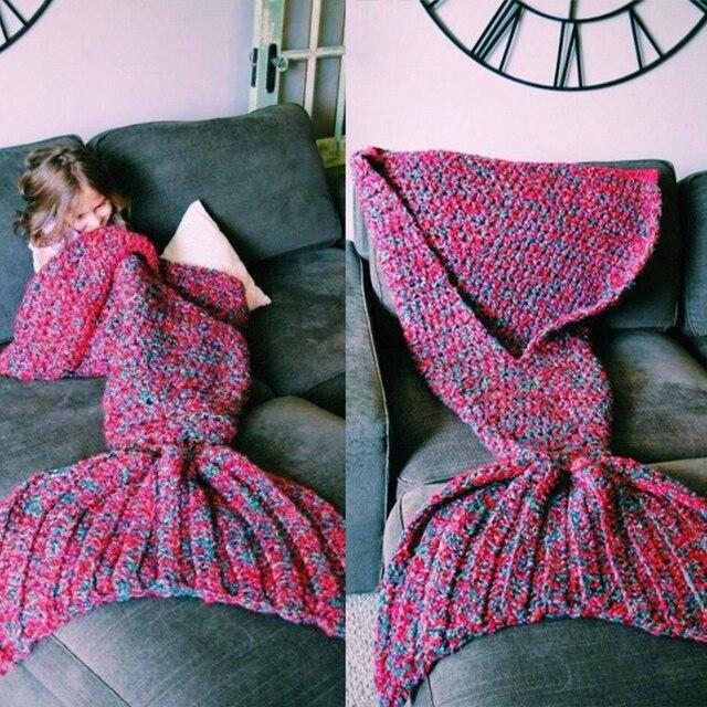 Cute Baby Boy Girls Sleeping Bag Cartoon Shark Children Clothing Mermaid Blanket Fashion Lovely Kids Sleeping Bags