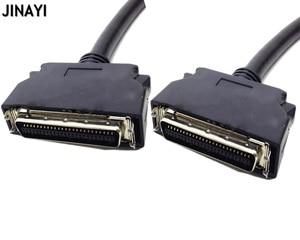 Image 1 - 1.5 m 3 m SCSI50 SCSI 50 Pin męski sygnału Terminal Breakout kabel do transmisji danych CN typu karta przechwytująca przewód łączący