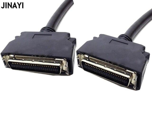 1.5 m 3 m SCSI50 SCSI 50 Pin męski sygnału Terminal Breakout kabel do transmisji danych CN typu karta przechwytująca przewód łączący