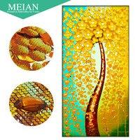 Meian 3D DIY Diamond Embroidery 5D Diamond Painting Diamond Mosaic Tree Needlework Crafts Christmas Decor