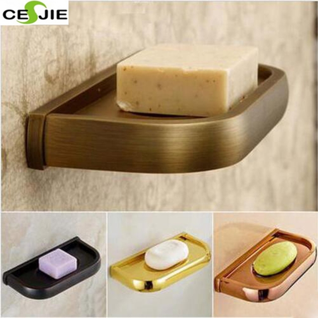 Solid Brass Wall Mounted Soap Dish Holder Soap Stand Bathroom ...