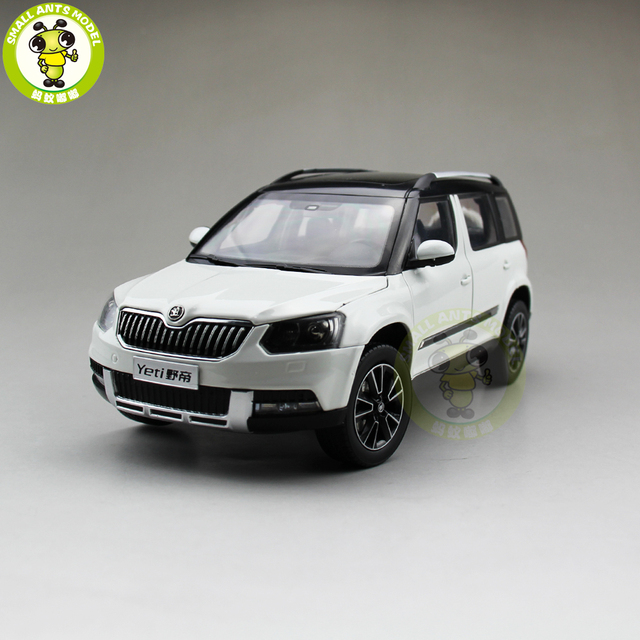 1 18 vw volkswagen skoda yeti carro suv suv diecast metal. Black Bedroom Furniture Sets. Home Design Ideas