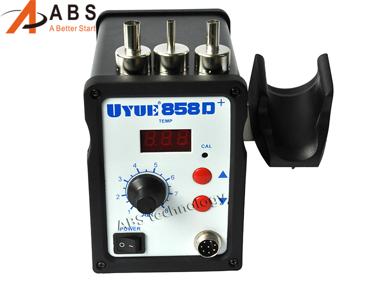 700W Upgrade Hot Air Gun YOUYUE 858D+ ESD Soldering Station LED Digital screen Desoldering Station+3pcs Nozzles 936 esd soldering station 700w soldering station