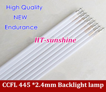 """200PCS Free Shipping 445 *2.4mm CCFL tube Cold cathode fluorescent lamps for 20"""" 20.1"""" widescreen LCD monitor"""