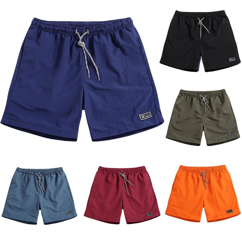 Men Fashion Casual Beach Shorts Quick Dry Shorts Male Beach Bermuda Shorts Short Comfortable Sportwear Plus Size M-5XL ,GA331