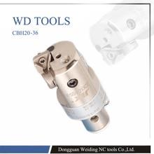 JIK  CBH bore 20 203 mm high precision 0.01mm Grade CBH finish boring head compatible with LBK arbor
