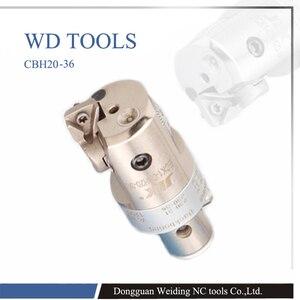 Image 1 - JIK  CBH bore 20 203 mm high precision 0.01mm Grade CBH finish boring head compatible with LBK arbor