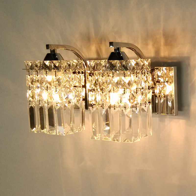 contemporary wall sconces for living room buy simple and modern led crystal lamp