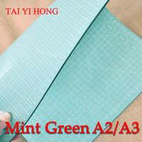 A3 Mint Green Pvc cutting mat self healing cutting mat Patchwork tools craft cutting board cutting mats for quilting