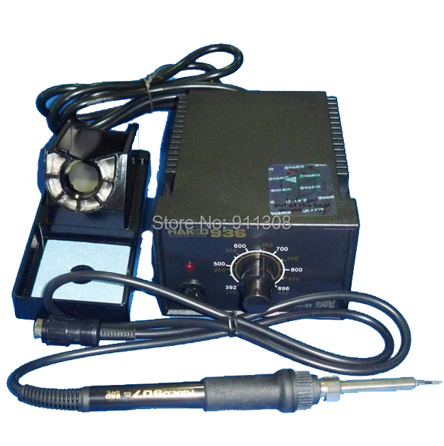 ESD packaging 220V HAKKO 936 Soldering Station+907 soldering handle+A1321 heating element  цены
