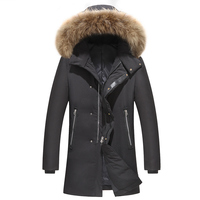 90%Duck Down Jackets Coats Men Down Jacket Brand Clothing Casual Winter Jacket Thickening Parkas Men Zippers Duck Down Jacket 23