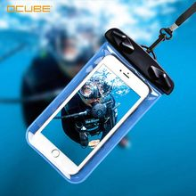 Waterproof Phone Case For Xiaomi Mi A3 K20 Mobile Cell Pouch Bag Underwater Swimming Cover Diving Smartphone Coque Fundas Holder(China)