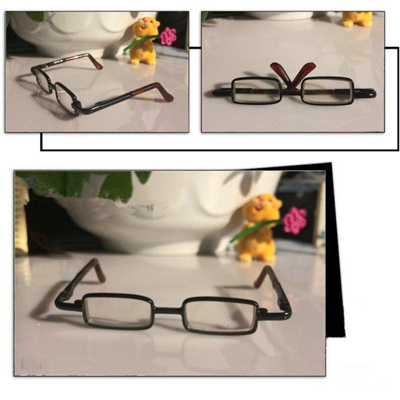 1/3 BJD Puppe Gläser Metall Rahmen Gläser für BJD Puppen Zubehör ...
