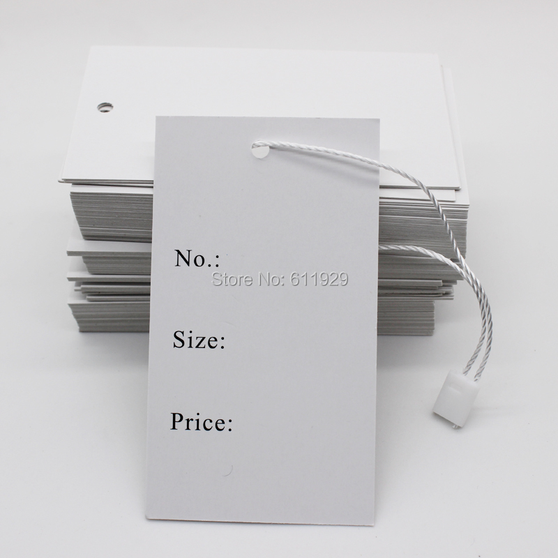 Free Shipping Wholesales Stock Clothing Price Tag/garment Size Tag/clothing Printed Label/custom Paper Hang Tag 200 Pcs A Lot