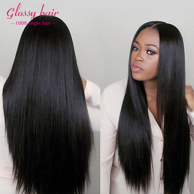 Peruvian Virgin Hair Straight 4Bundles Rosa Hair Products 8A Straight Virgin Hair Human Hair Bundles Peruvian Straight Extension