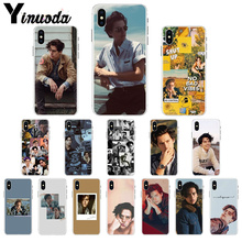 Yinuoda American TV Riverdale Jughead Jones DIY Phone Accessories Case for iPhone X XS MAX  6 6s 7 7plus 8 8Plus 5 5S SE XR