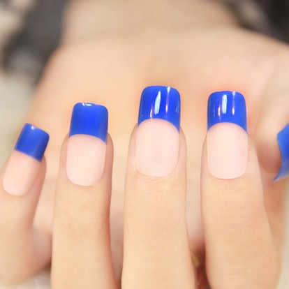How To Do Colored Nail Tips Art Ideas
