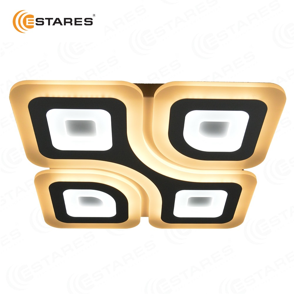 ESTARES Управляемый светодиодный светильник Geometria Quadrate 85w q 500 white 220 ip44
