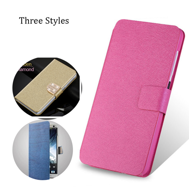 (3 Styl) For Fly IQ4413 EVO Chic 3 Case Flip Stand PU Leather Wallet Cover For Fly IQ4415 Quad ERA Style 3 Case Mobile Phone Bag
