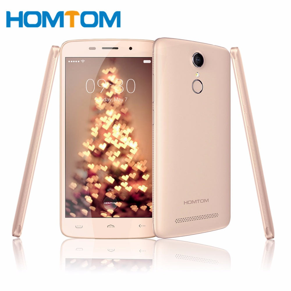 HOMTOM HT17 PRO 5 5 inch HD Quad Core Smartphone 2GB RAM 16GB ROM Android 6